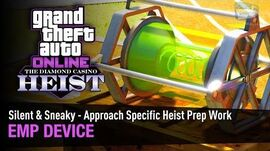 GTA Online The Diamond Casino Heist - Heist Prep EMP Device Silent & Sneaky - Solo