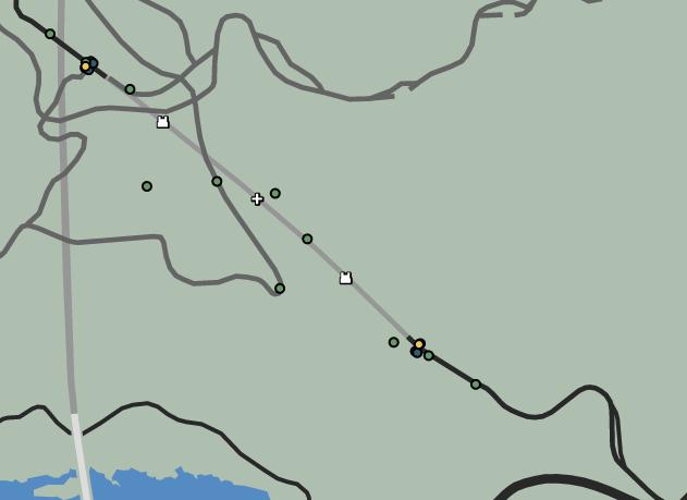High Road Raid GTAO Map