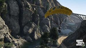 Parachuting-GTAV