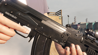 Assault Rifle-GTAV-Markings