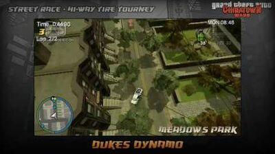 GTA Chinatown Wars - Walkthrough - Street Race - Hi-Way Tire Tourney - Dukes Dynamo