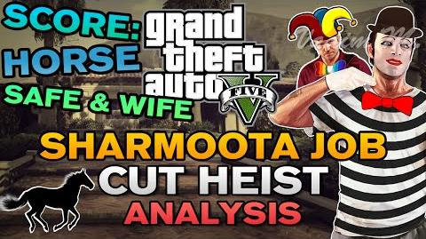 "GTA V - ""The Sharmoota Job"" Cut Heist Analysis"