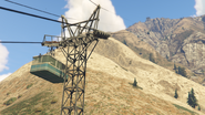 Aerial Tramway-GTAV-Cable Car Pylon Transition