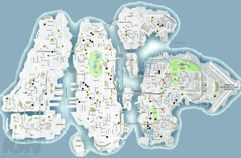 Liberty City Map Liberty City Map | compressportnederland Liberty City Map