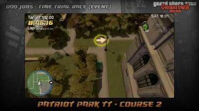GTA Chinatown Wars - Walkthrough - Time Trial Race - Patriot Park TT - Course 2