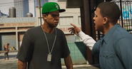 Lamar And Franklin-GTAV