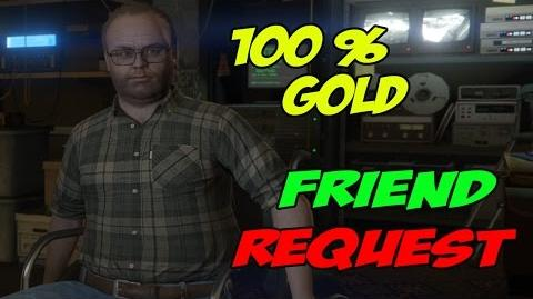 Friend Request - GTA 5 100% Gold