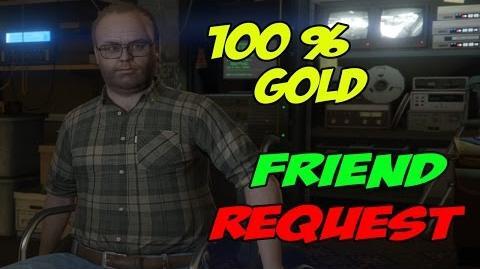 Friend Request - GTA 5 100% Gold
