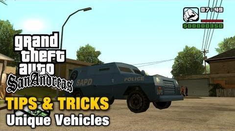 GTA San Andreas - Unique Vehicles