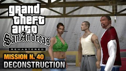 GTA San Andreas Remastered - Mission 40 - Deconstruction (Xbox 360 PS3)