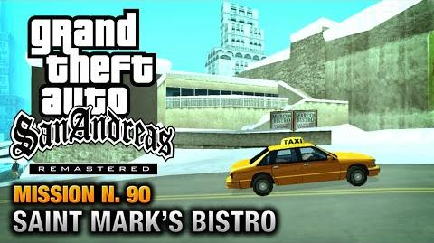 GTA San Andreas Remastered - Mission 90 - Saint Mark's Bistro (Xbox 360 PS3)
