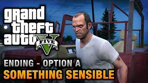GTA 5 - Ending A Final Mission 1 - Something Sensible (Kill Trevor)