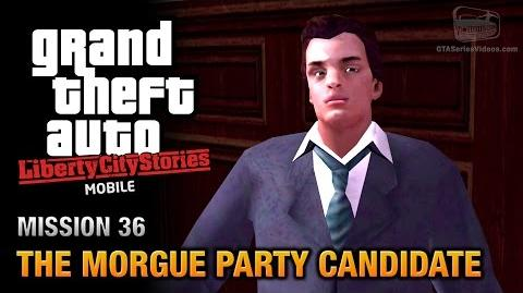 GTA Liberty City Stories Mobile - Mission 36 - The Morgue Party Candidate