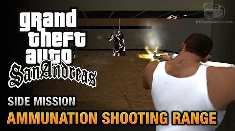 GTA San Andreas - Ammunation Shooting Range