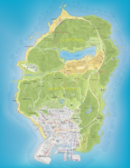 SouthernSanAndreas RoadMap GTAV