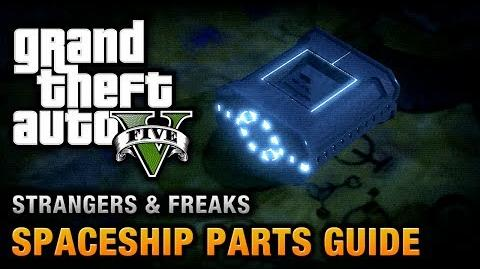 Video - GTA 5 - Spaceship Parts Location Guide From Beyond