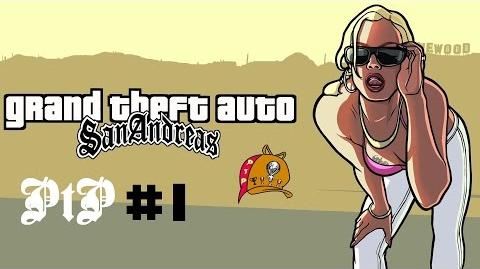 GTA San Andreas (PS4 - 1080p) PtP 1 - Getting Started Trophy