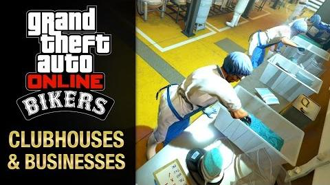GTA Online - All Clubhouses and Business Bikers DLC