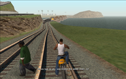 WrongSideOfTheTracks-GTASA-FamousLine