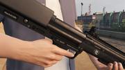 Bullpup Shotgun-GTAV-Markings