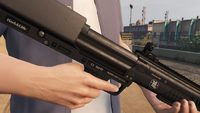 Bullpup Shotgun-GTAV-Markings