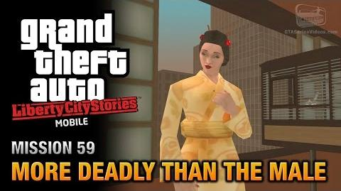 GTA Liberty City Stories Mobile - Mission 59 - More Deadly than the Male