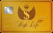 High life card