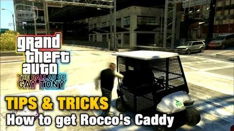 GTA The Ballad of Gay Tony - Tips & Tricks - How to get Rocco's Caddy