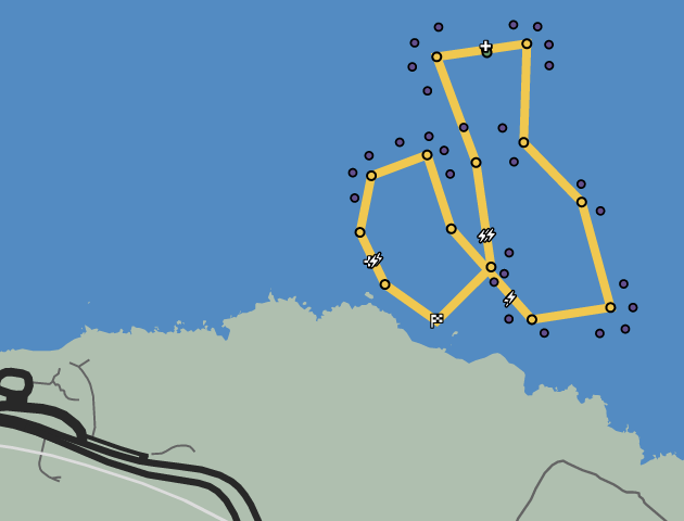 Motorboating GTAO Race Map