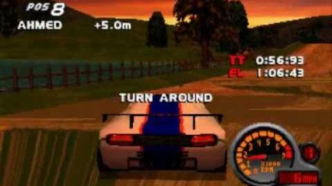 Find Secret Level 7 Total Drivin Grand Tour Racing 98