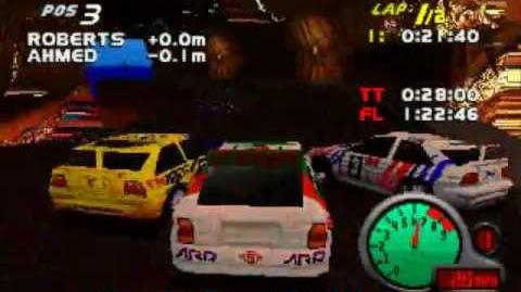 Easter Island 7 Extra Level (Bloopers) Total Drivin Grand Tour Racing 98