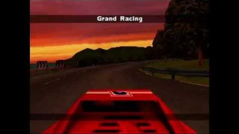 Gekisou!! Grand Racing (PS1 - Japan) - Intro and Attract