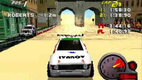 Egypt 4, Scot6, EI7 Bloopers Total Drivin Grand Tour Racing 98