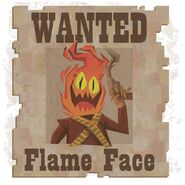 Flame Face