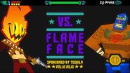 Flame Face Face