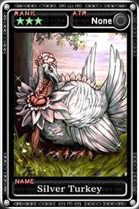 Silver Turkey
