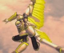Michael leapingaction