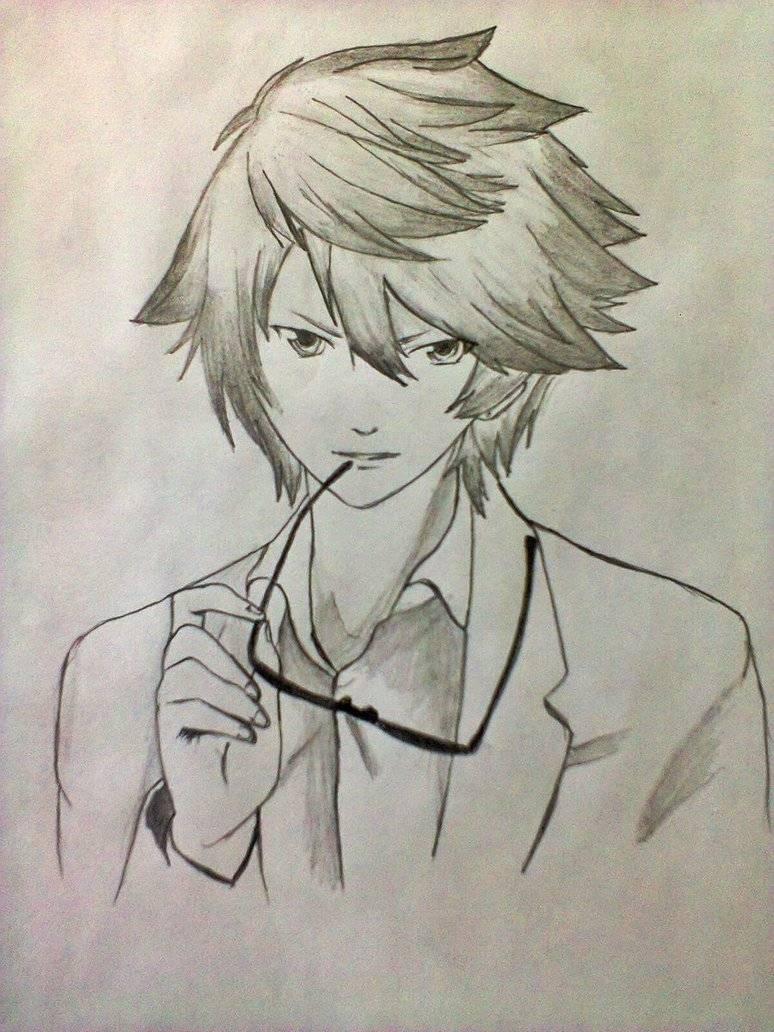 318708 anime and manga cool anime guy drawing jpg