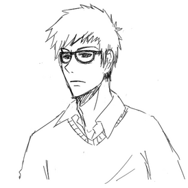Nerd sketch by yummyun-d5e2yh
