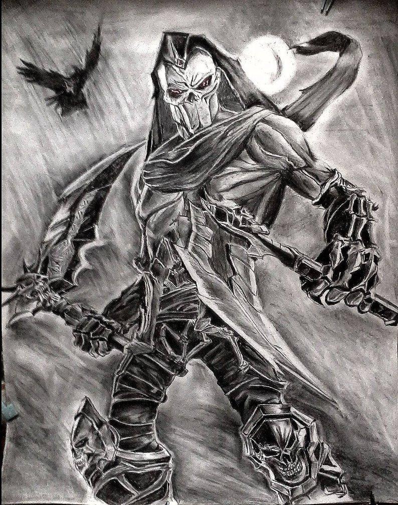 Image Grim Reaper Of Death Darksiders By Debonation D6xrh5pjpg