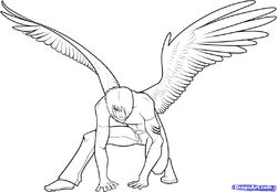 How-to-draw-anime-wings-draw-an-anime-angel-step-17 1 000000049353 5