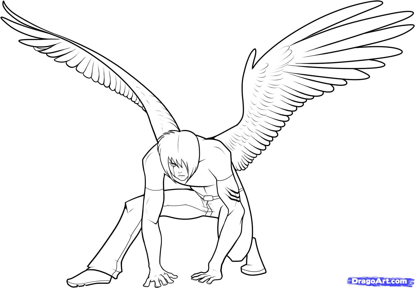 How to draw anime wings draw an anime angel step 17 1 000000049353 5 jpg