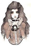 Victorian woman by sparkling dusk-d59yo6l