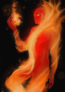 Homm 3 fire elemental sketch by jj power-d62z8t1