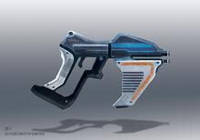Pistolet 2x Syndi