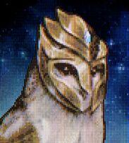 Shard gold armour
