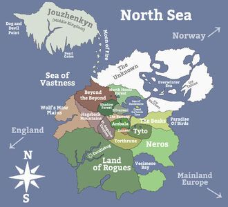 Kingdoms of steel map