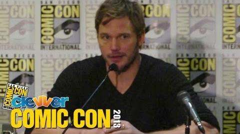 Guardians of the Galaxy 2013 Comic Con Press Conference