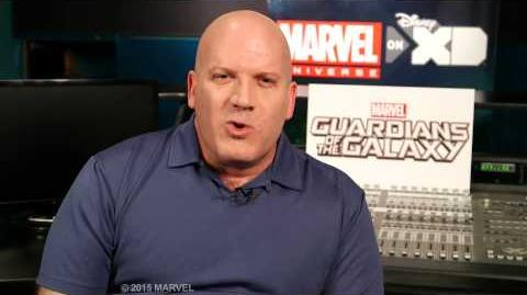 """David Sobolov as Drax in """"Marvel's Guardians of the Galaxy"""""""