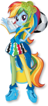 MLP Rainbow Rocks Rainbow Dash Rainbooms
